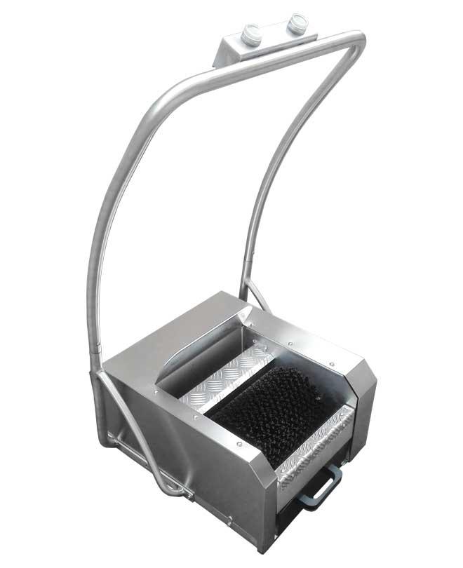 pulisci scarpe elettrico inox